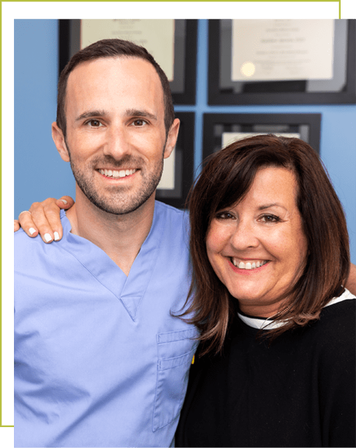 dr epstein and dental patient smiling seattle wa