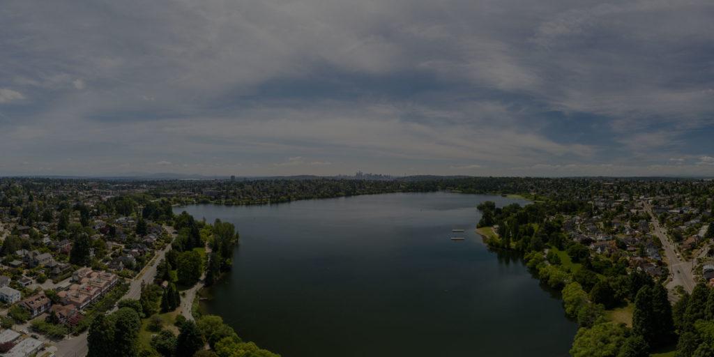 lake background seattle wa